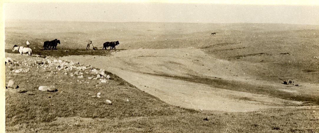 George Gillette - Garrison Dam Site