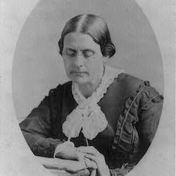 Susan B. Anthony, ca. 1870