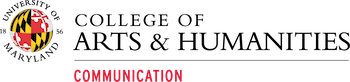 UMD College Arts and Humanities logo